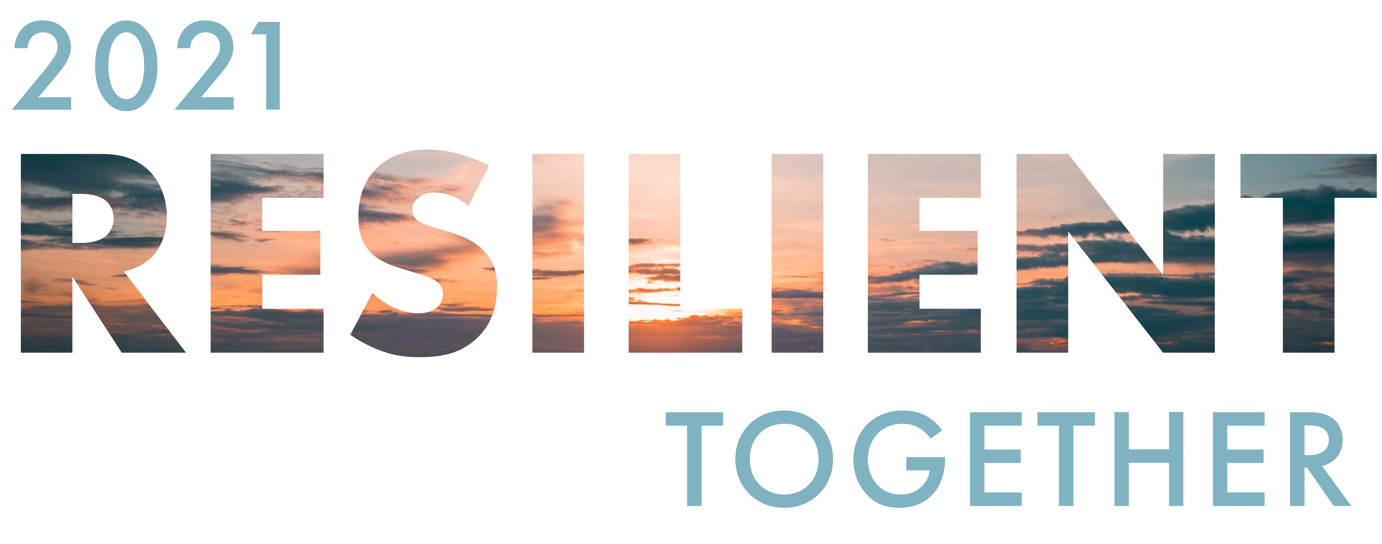 2021 Resilient Together Logo